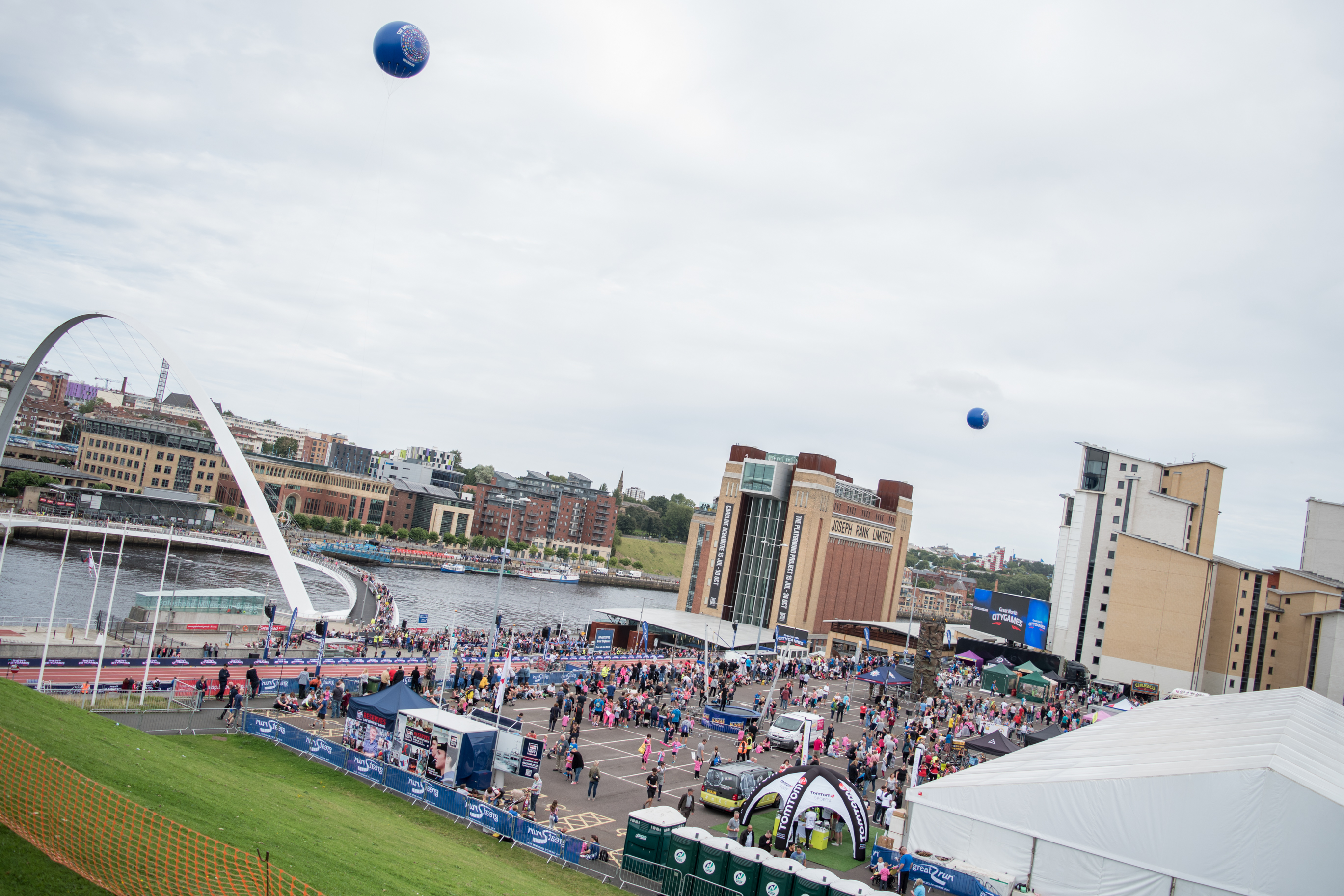 The Barilla Great North Run Pasta Party 2016
